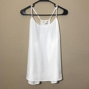 plus size sheer white camisole tank top J. Crew